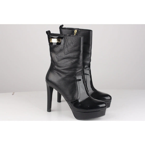 Black Heeled Ankle Boots Opherty & Ciocci
