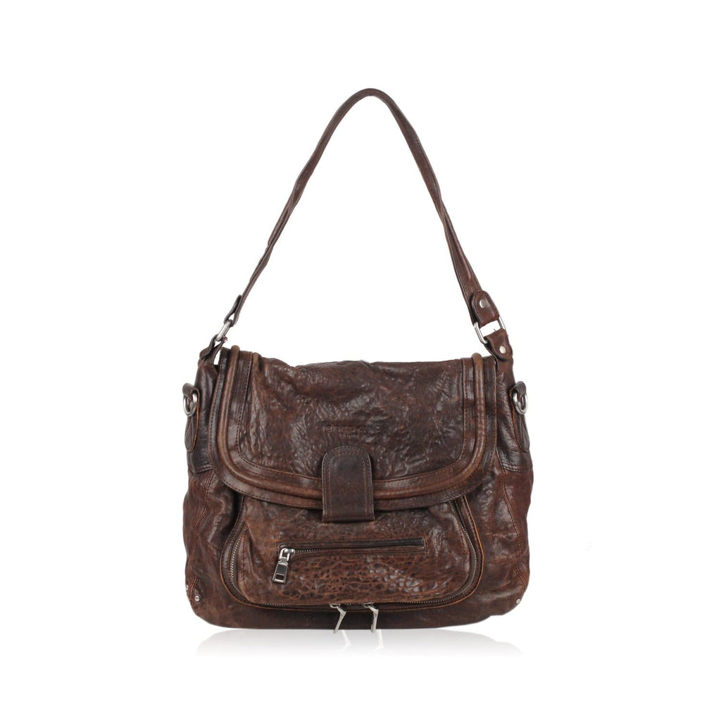 Leather Tote Shoulder Bag Opherty & Ciocci