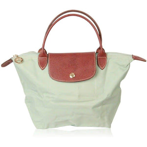 Longchamp Paris Mint Canvas Le Pliage Bag Top Handles S Opherty & Ciocci