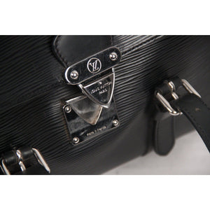 Louis Vuitton Black Epi Leather Segur Mm Bag Opherty & Ciocci
