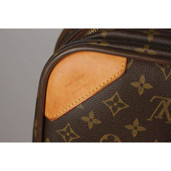 Monogram Canvas Satellite 70 Suitcase Opherty & Ciocci