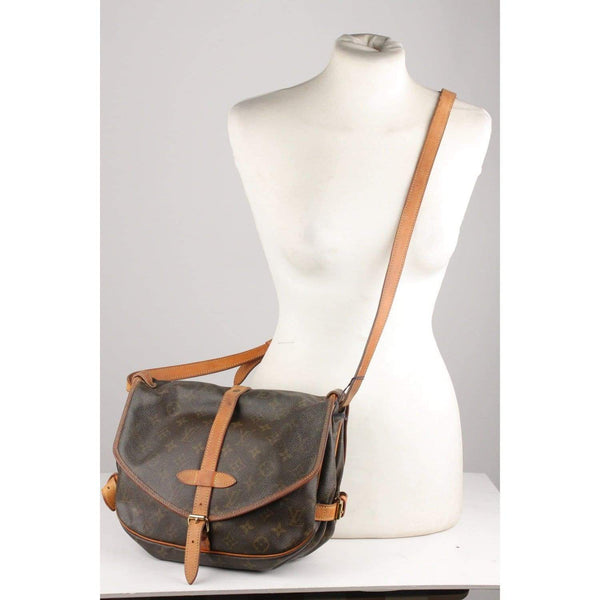 Monogram Saumur Pm Messenger Bag Opherty & Ciocci