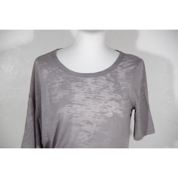 Maison Martin Margiela Gray Asymmetric T Shirt Dress Opherty & Ciocci