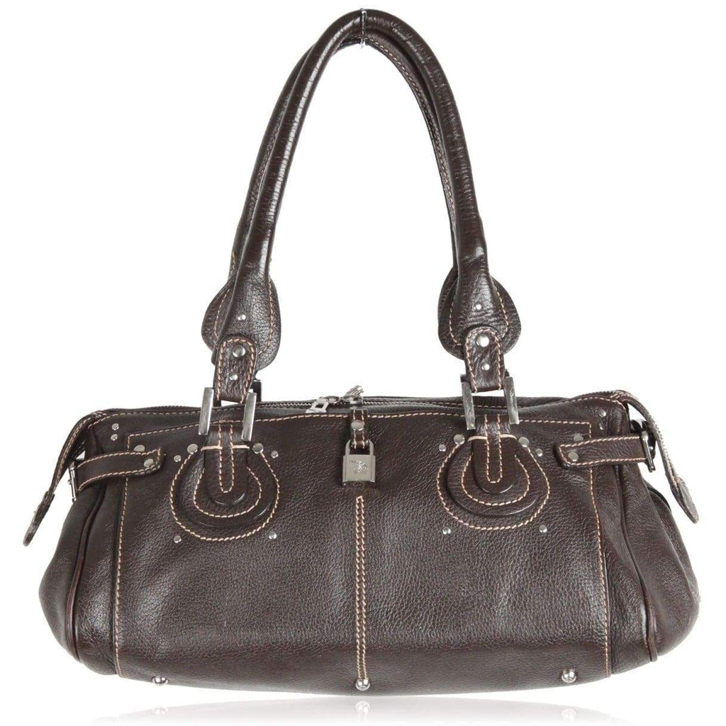 Maison Mollerus Brown Leather Shoulder Bag Opherty & Ciocci