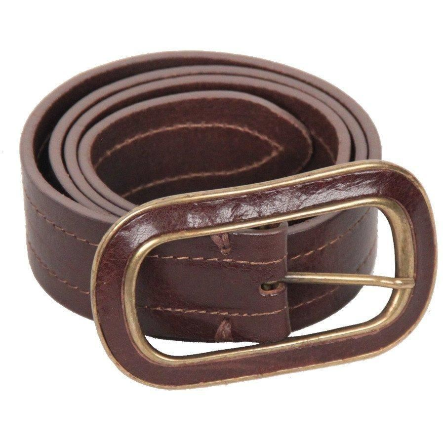 Massimo Dutti Brown Leather Belt Size 80 Opherty & Ciocci