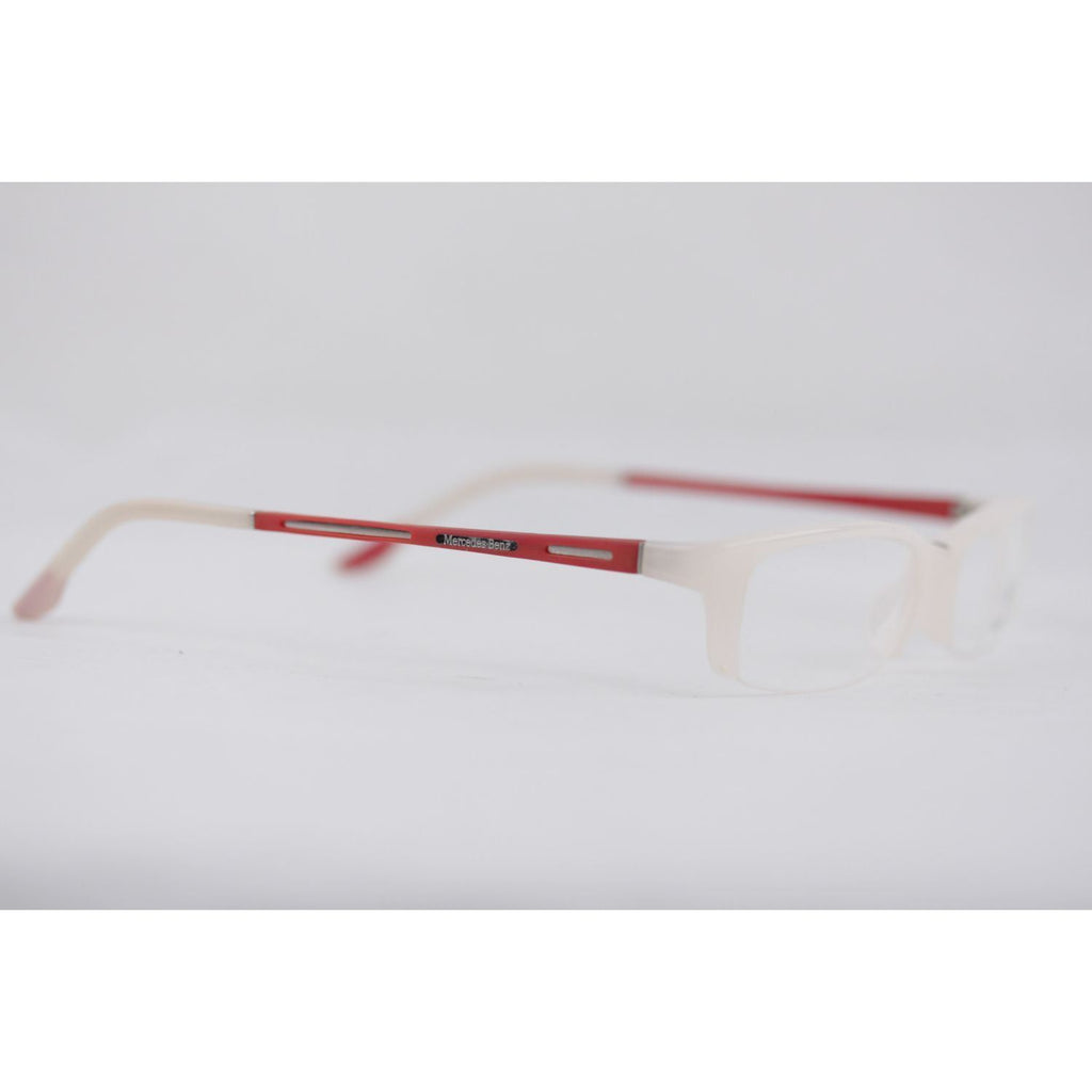 White Red Half-Rim Frame Mod. Mb03904 Opherty & Ciocci