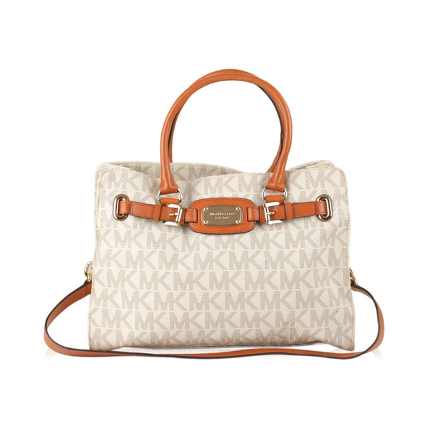 8518e74028d1 ... uk enjoy michael kors hamilton mk signature tote bag at ophertyciocci  opherty ciocci 94a67 05a1a