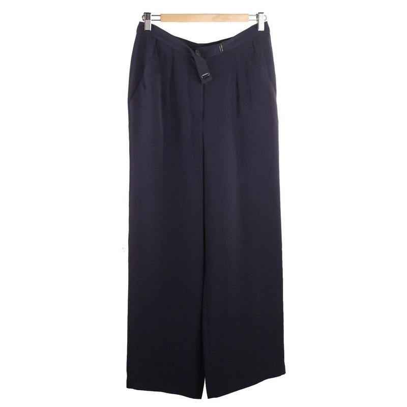 Wide Leg Trousers Pants Size 40 Opherty & Ciocci