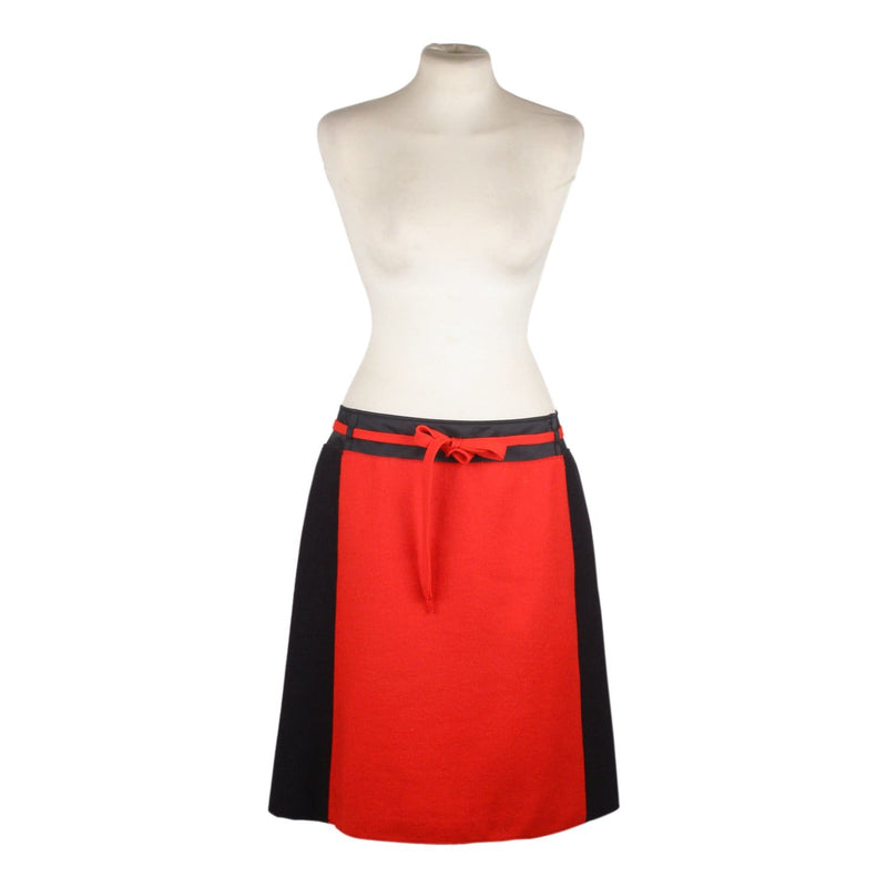 Color Block Wool Skirt Size 42 Opherty & Ciocci