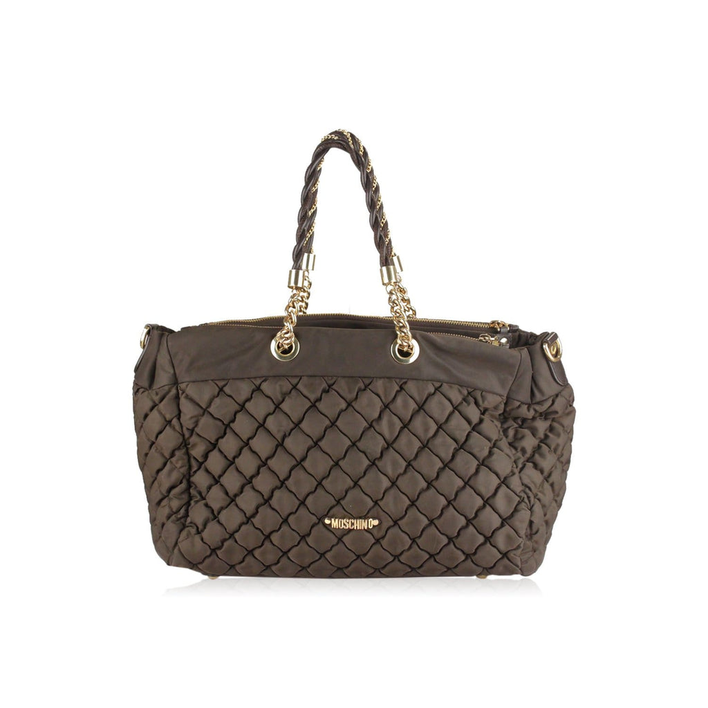 Quilted Nylon Tote Shoulder Bag Opherty & Ciocci