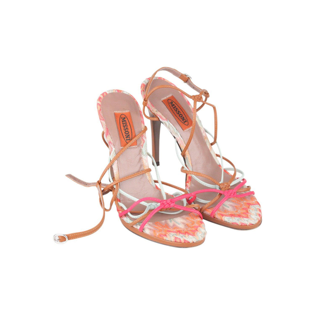 Multicolor Heeled Sandals 36 Opherty & Ciocci