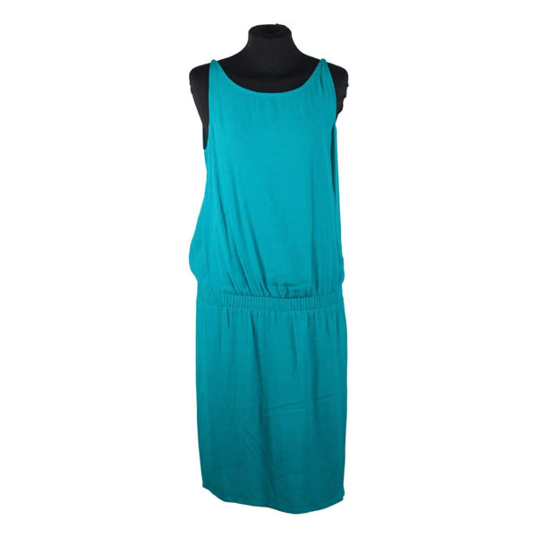 Ba&sh Turquoise Viscose Budapest Dress Scooped Back Size 1 Opherty & Ciocci