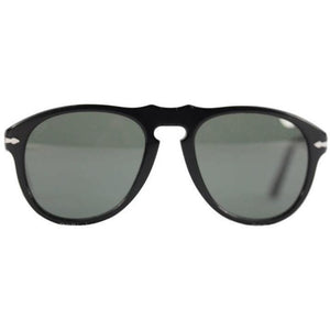PERSOL Black SUNGLASSES mod. 649 MEFLECTO eyewear 95-31 54mm 140 3N