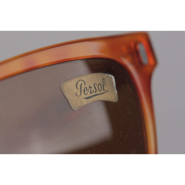 Persol Ratti Vintage Brown Meflecto 9271 28 53Mm Sunglasses Opherty & Ciocci