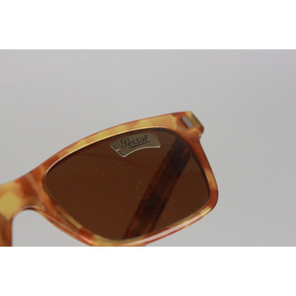 Persol Ratti Vintage Brown Meflecto 9271 53Mm Sunglasses Nos Opherty & Ciocci