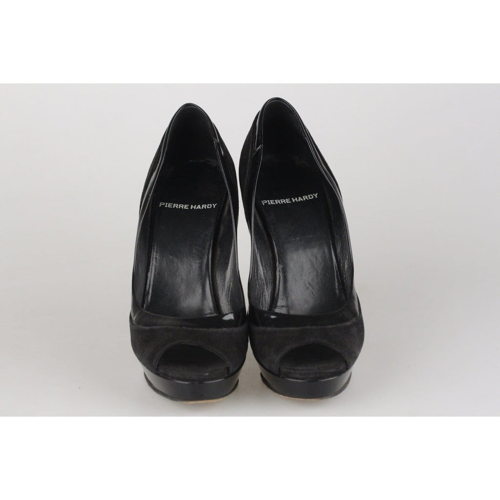Open Toe Heels Shoes Pumps Size 36 Opherty & Ciocci