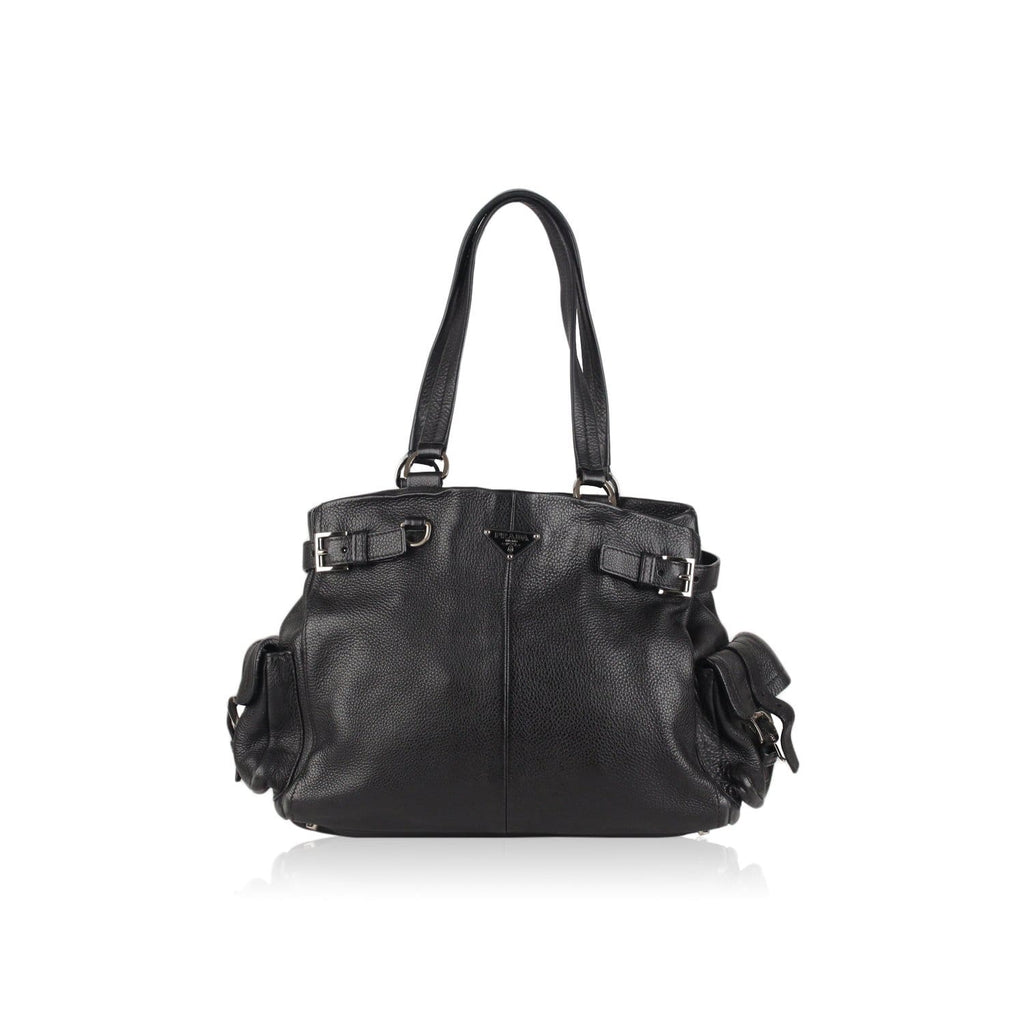 Buckled Tote Shoulder Bag Opherty & Ciocci