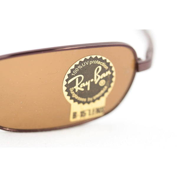 Ray-Ban Brown Metal Unisex Mint Sunglasses Rb3270 014 56Mm B15 Lens Opherty & Ciocci