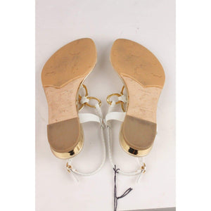 Flat Thong Sandals Size 37.5 Opherty & Ciocci