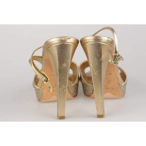 Sandals Heels Shoes With Crystals Opherty & Ciocci