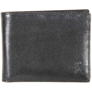 Roberta Di Camerino Vintage Black Leather Bifold Wallet Opherty & Ciocci
