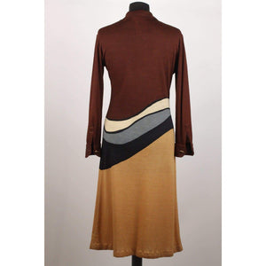 Vintage Long Sleeve Dress Size 46 Opherty & Ciocci