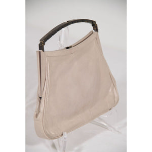 Sandro Corti Vintage Beige Leather Handbag Bag Purse Made In Italy Opherty & Ciocci