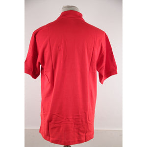 Scuderia Ferrari Red Cotton Polo Shirt Short Sleeve Formula 1 Size L Opherty & Ciocci