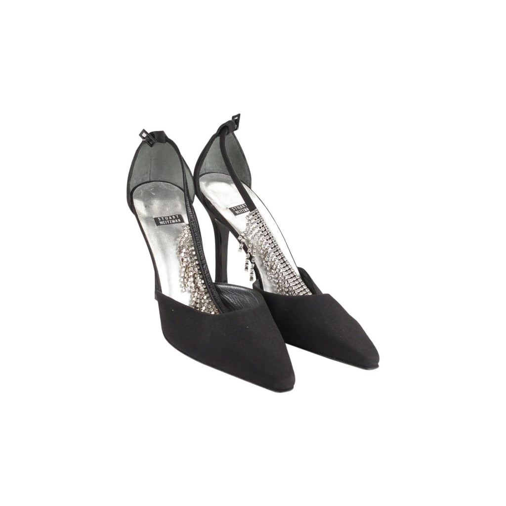 Dorsay Pumps Heels Shoes With Crystals Opherty & Ciocci