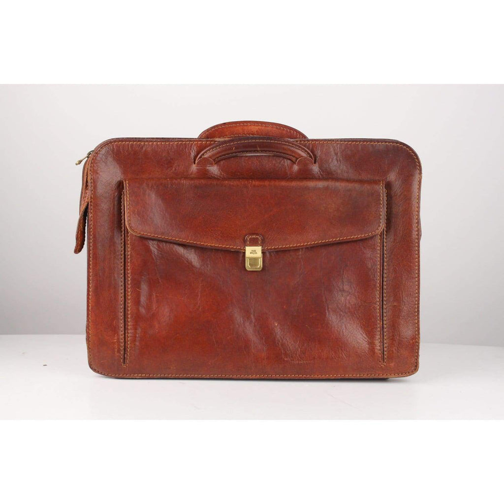 Briefcase Work Bag With Front Pocket Opherty & Ciocci