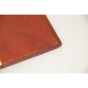 The Bridge Brown Leather Address Book Notepad Agenda Cover Opherty & Ciocci