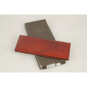 The Bridge Brown Leather Horizontal Desk Agenda Cover Opherty & Ciocci