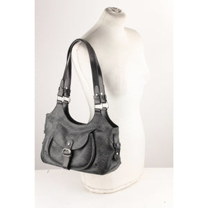 Logo Canvas Shoulder Bag Hobo Tote Opherty & Ciocci