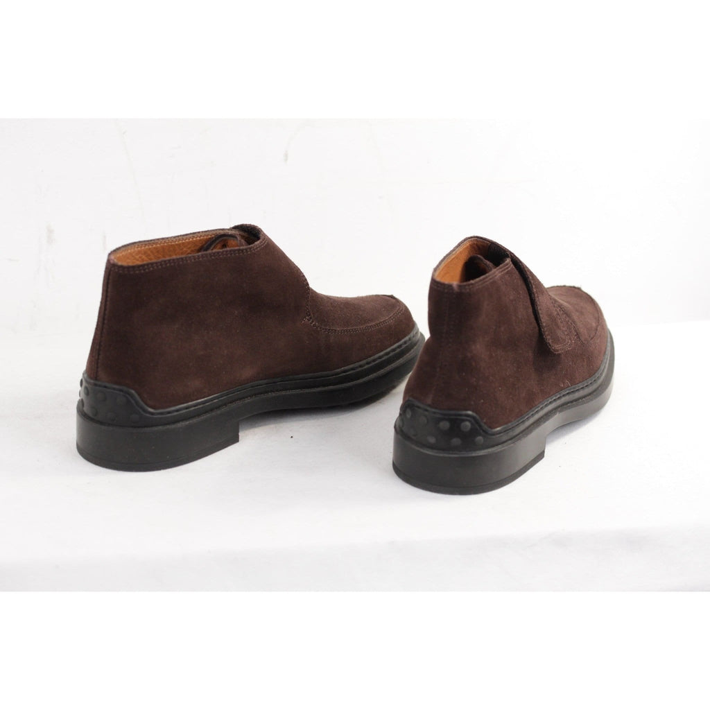 Tods Brown Suede Monk Shoes W/ Strap Size 35 Opherty & Ciocci