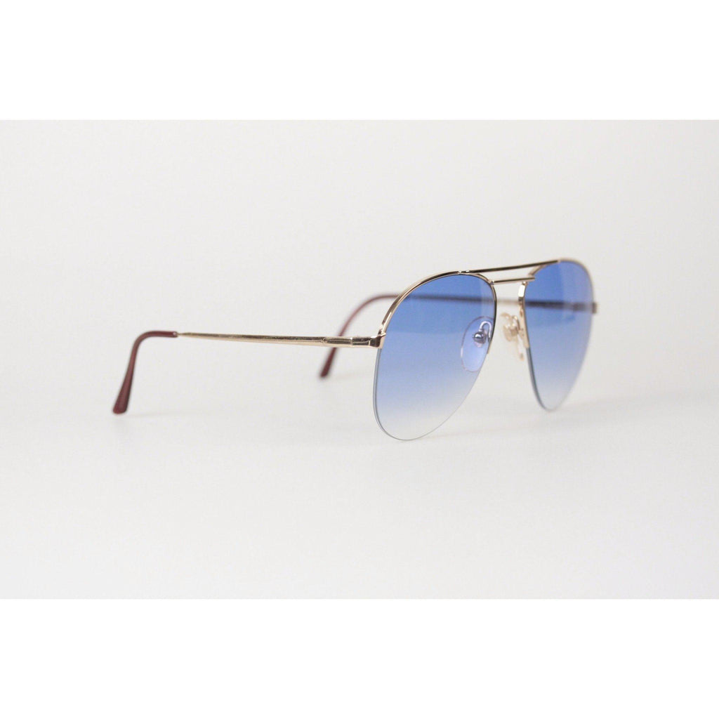 2cc9c0e4a0 Vintage Aviator Mint Sunglasses Mod. 16661 Blue Opherty   Ciocci