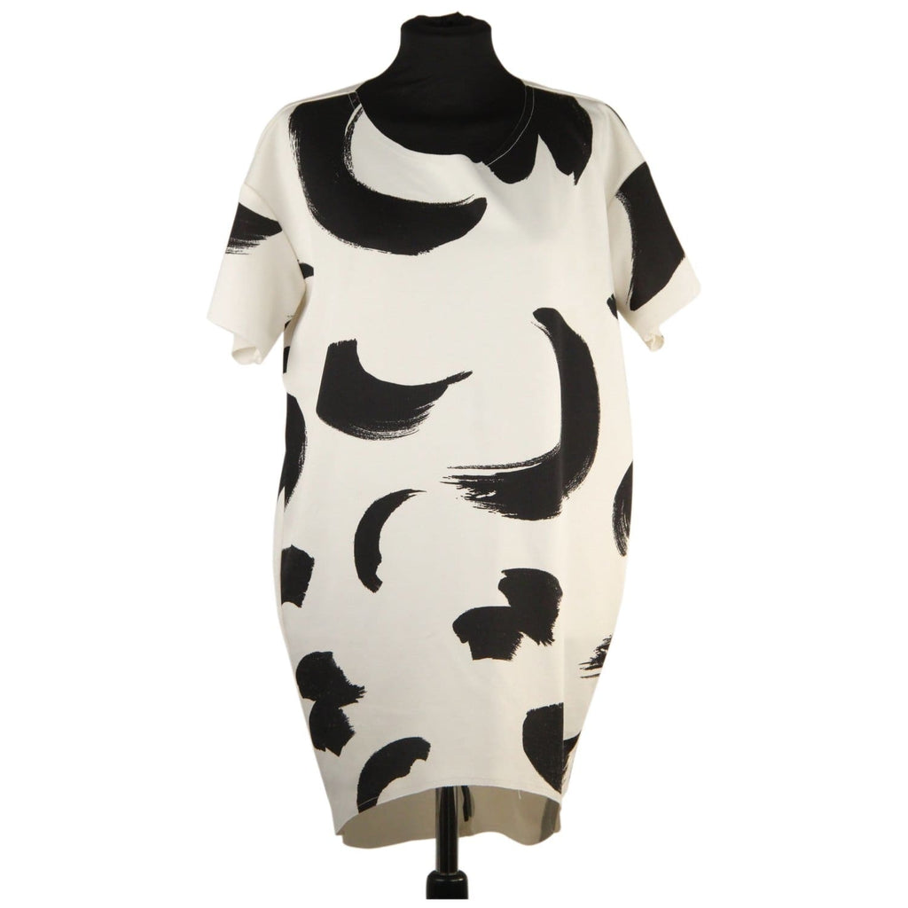 Black And White Mini Dress Opherty & Ciocci