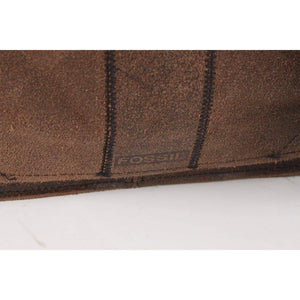 Brown Distressed Suede Messenger Bag Opherty & Ciocci