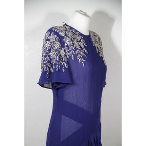 Vintage Long Evening Dress Opherty & Ciocci