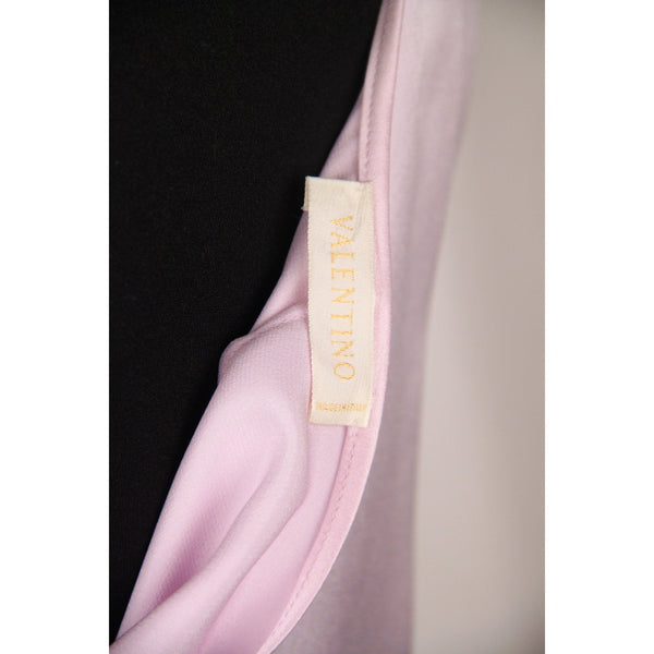 VALENTINO Lilac Silk SLEEVELESS TOP Size 8