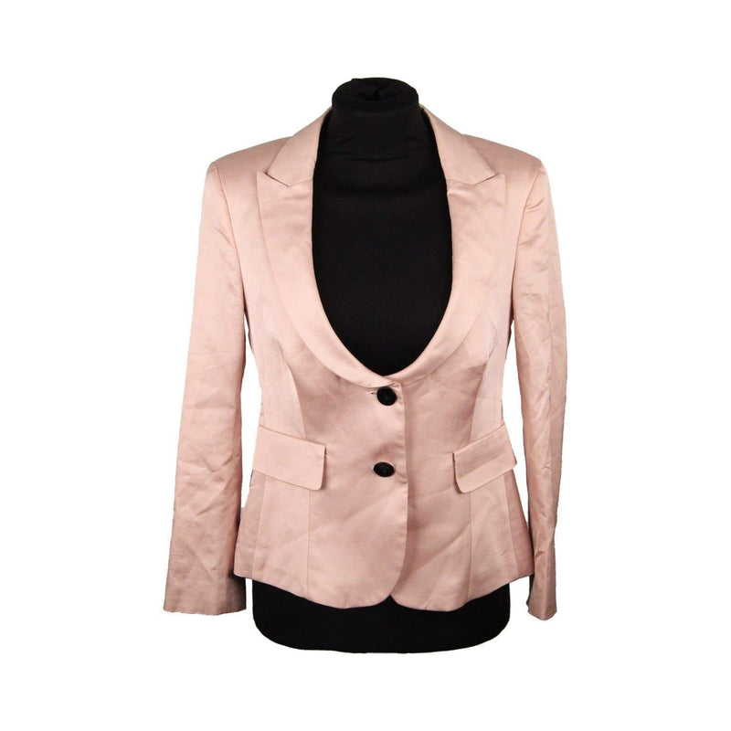 Red Valentino Pink Blazer Jacket With Bow Size 40 Opherty & Ciocci