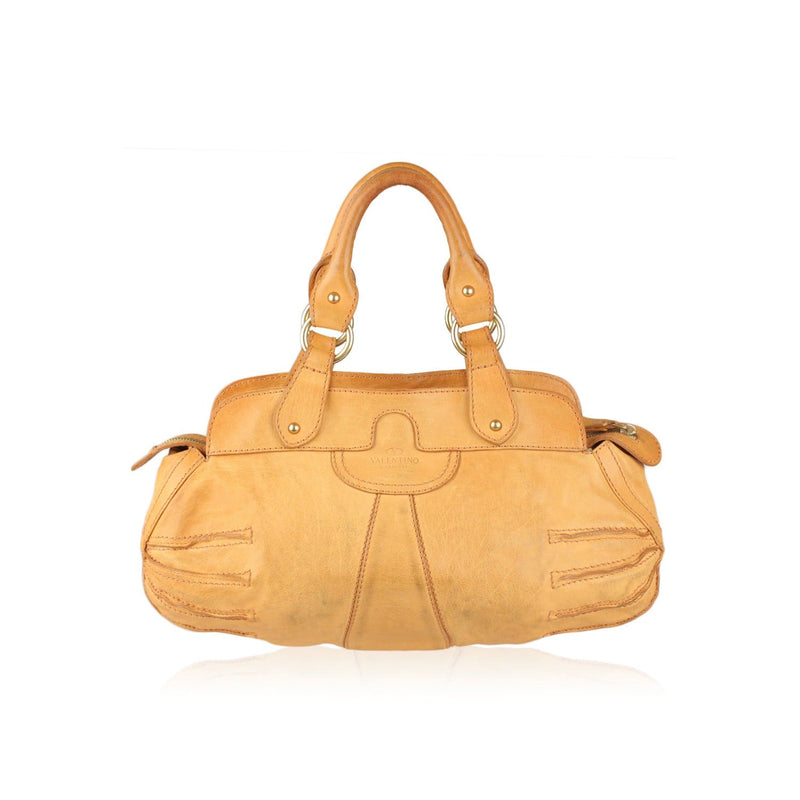 Tan Satchel Bag Handbag Opherty & Ciocci