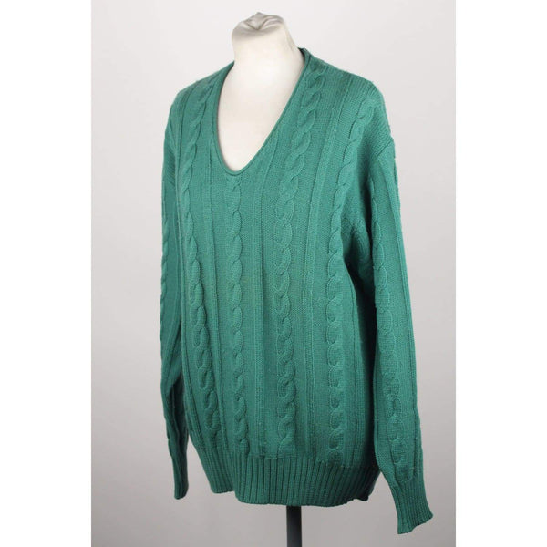 Vintage Cable Knit Sweater Size L Opherty & Ciocci