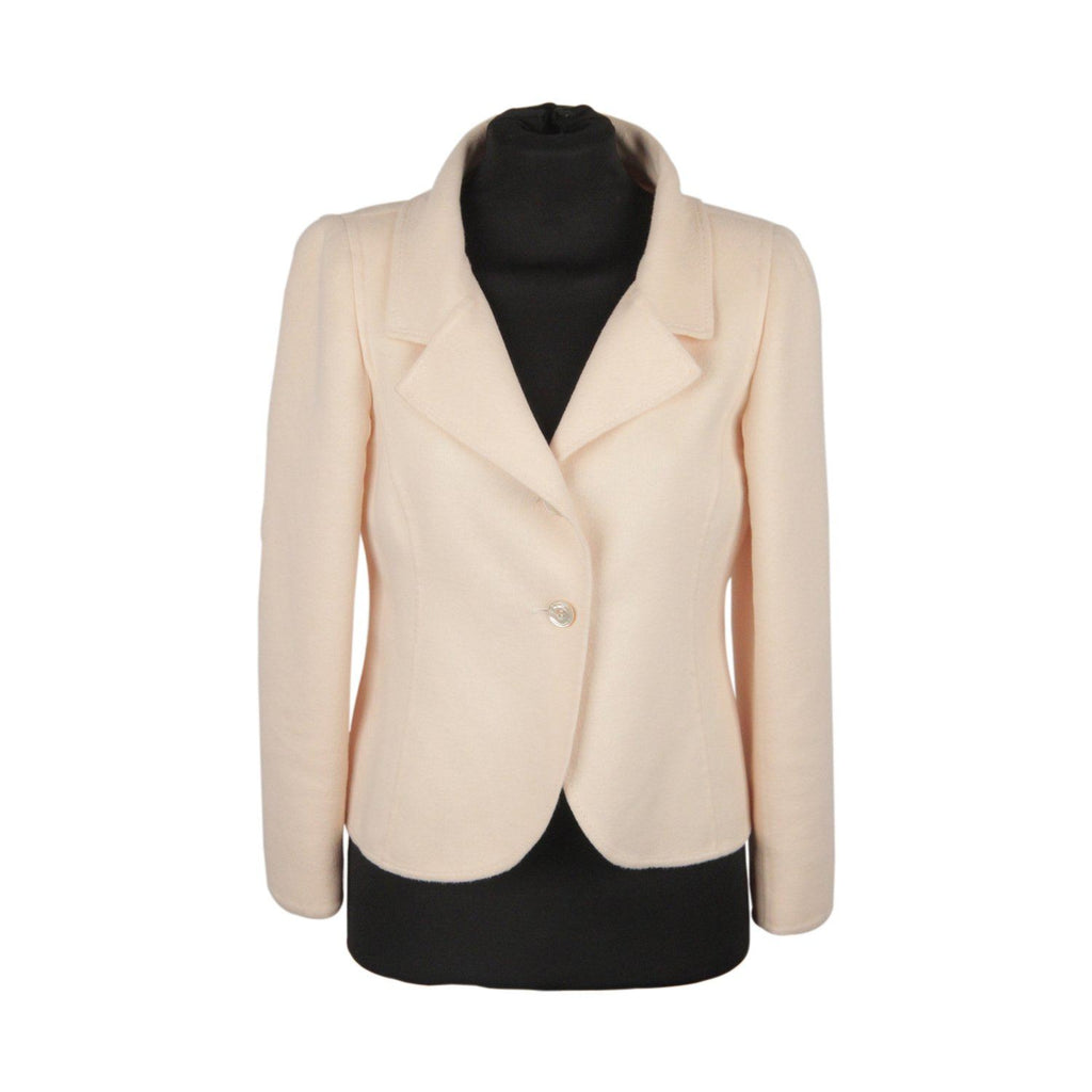 Wool Blazer With Bow Detail Opherty & Ciocci