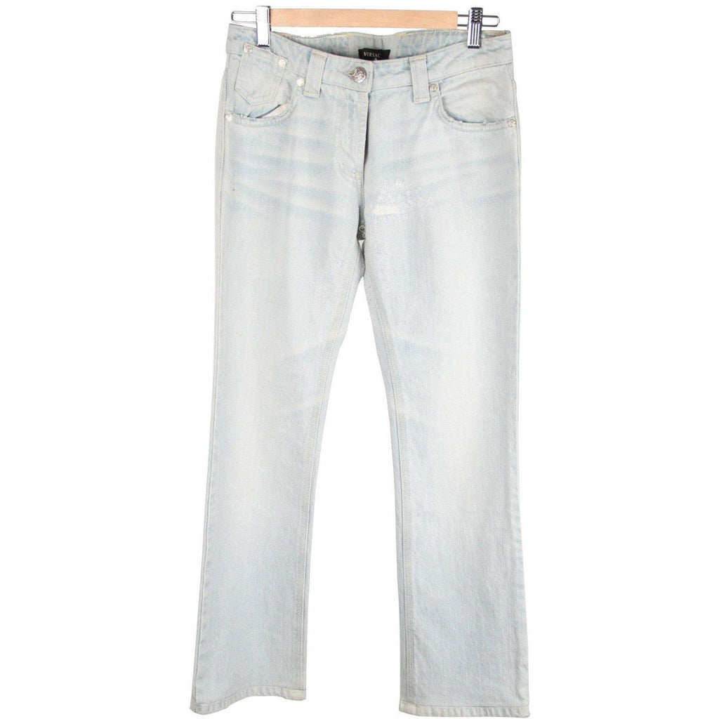 VERSACE Light Blue Jeans Denim PANTS TROUSERS Size 27