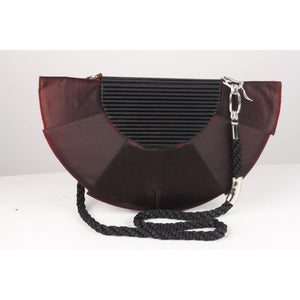 Vintage Half Moon Clutch Shoulder Bag Opherty & Ciocci