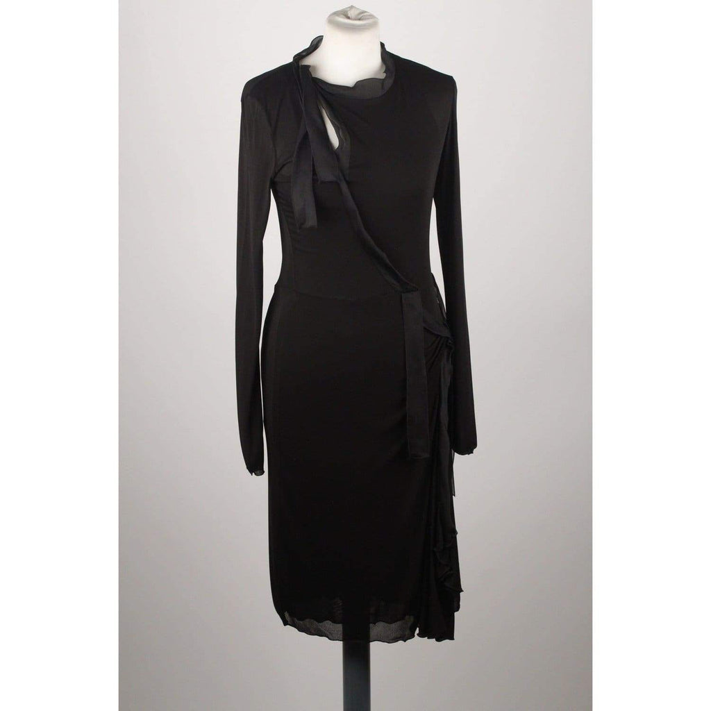 Black Long Sleeve Dress Opherty & Ciocci