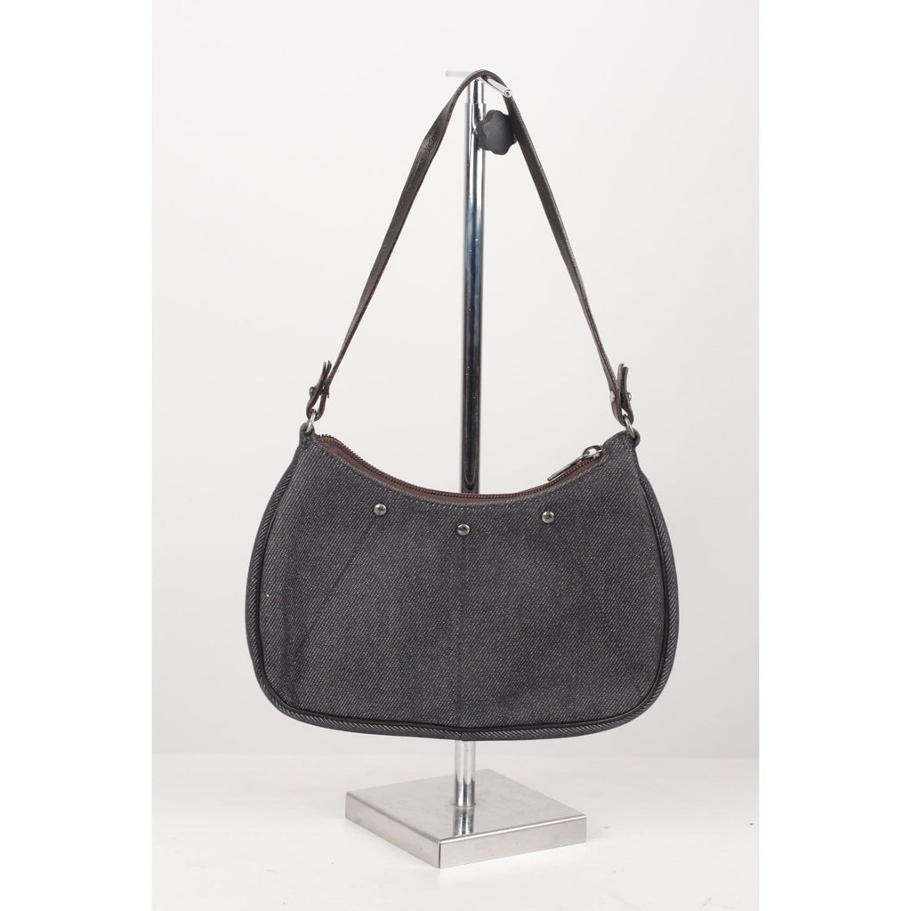 Rive Gauche Denim Mini Mombasa Shoulder Bag Opherty & Ciocci
