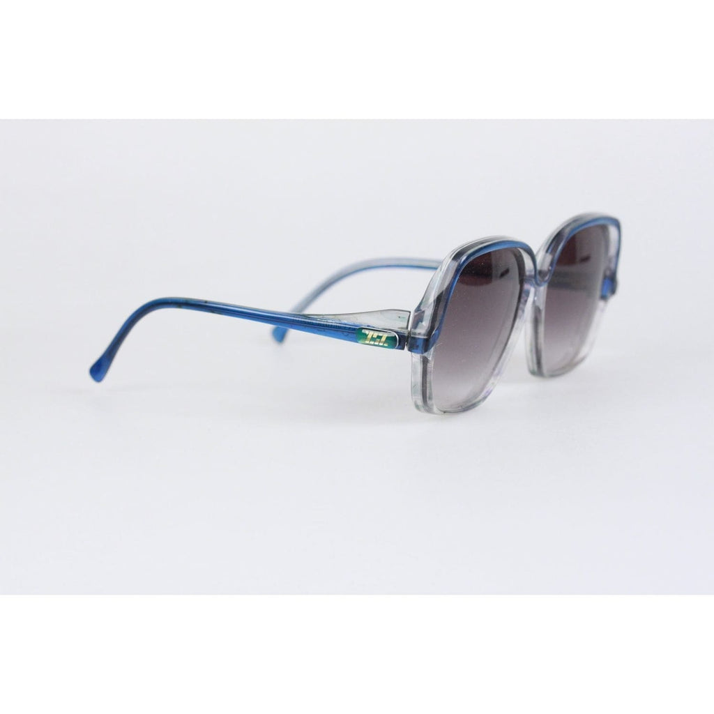 74375e1cd9 Vintage Blue Oversized Mint Sunglasses Mod. Aurantiaca Opherty   Ciocci