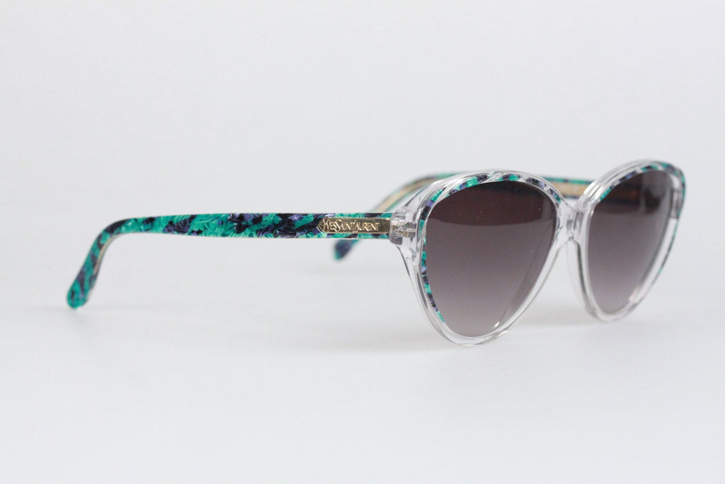 YVES SAINT LAURENT Vintage MINT Multicolor Sunglasses ARION 52mm
