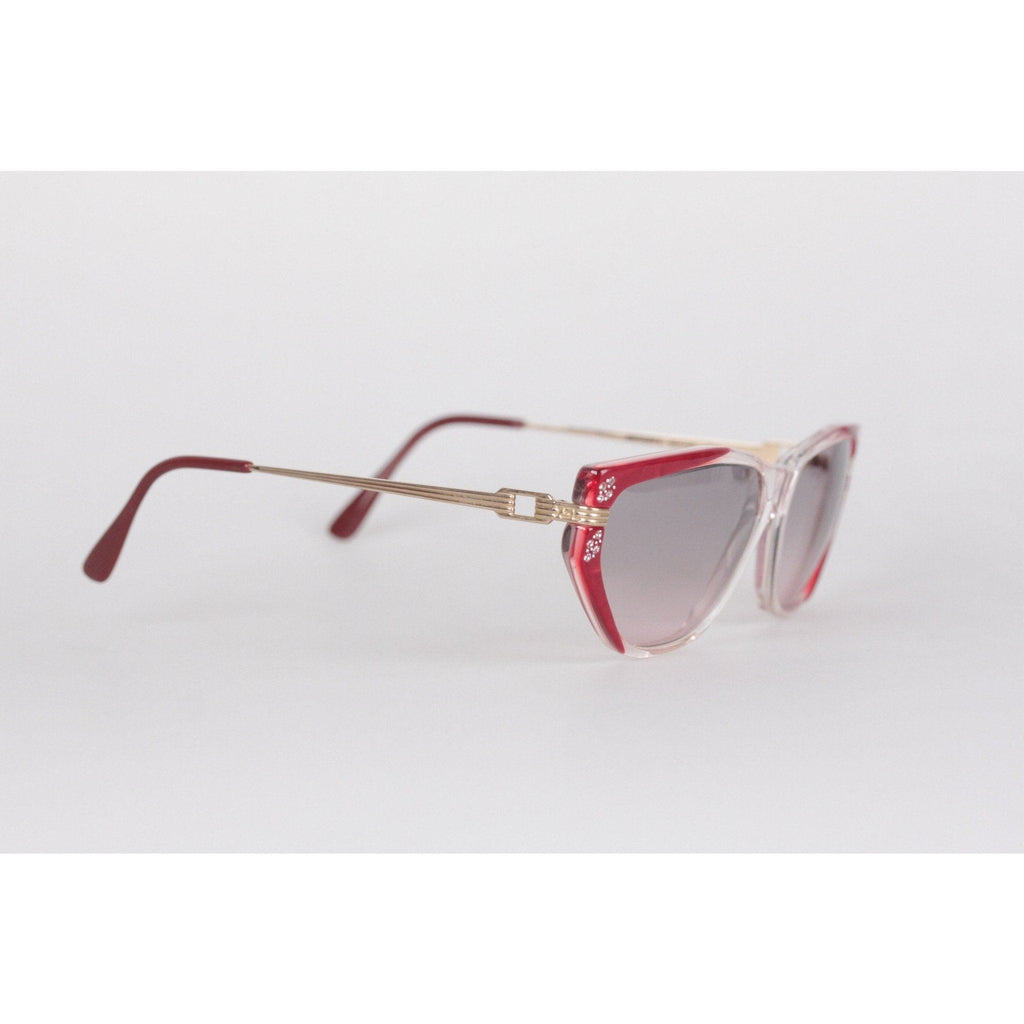Vintage Red Sunglasses Euterpe 60Mm Opherty & Ciocci